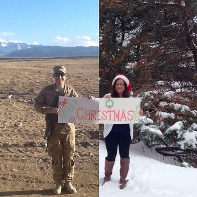 Christmas Military Pic
