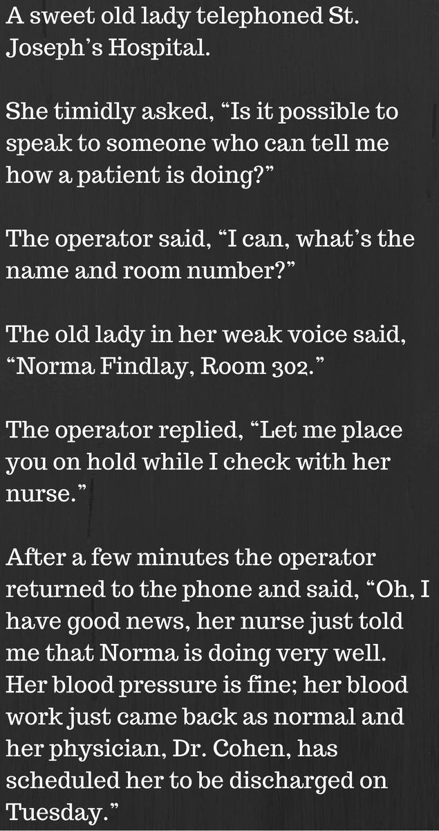 hospital joke