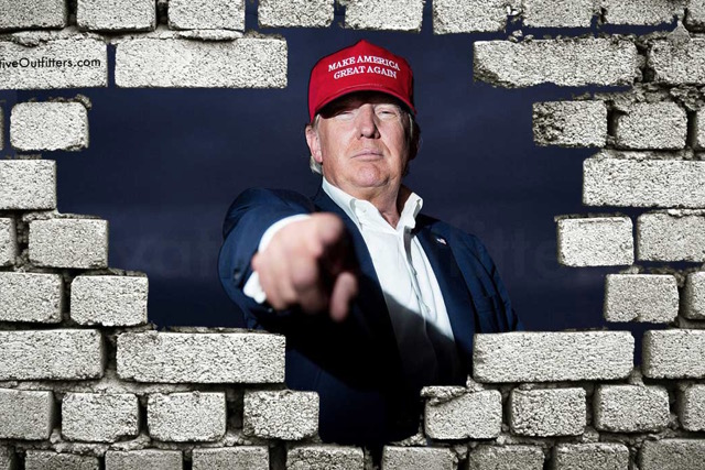 When Will Donald Trump Start Building The Wall