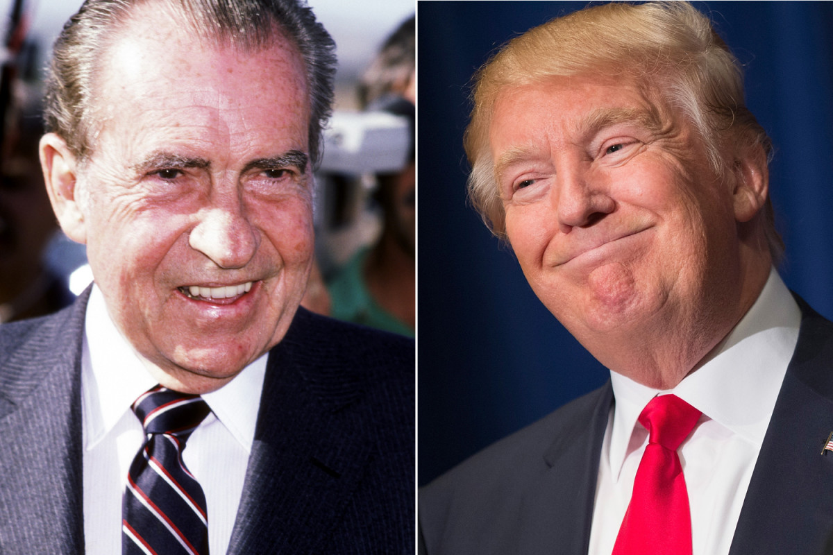 unearthed richard nixon predicted president trump trump nixon