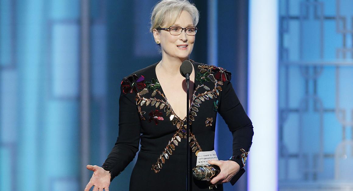Meryl Streep trump